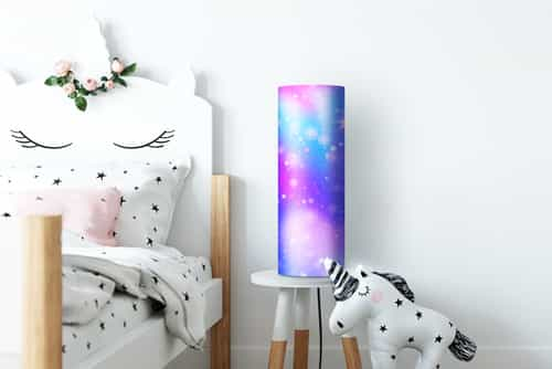 Photo on a lamp childrensroom
