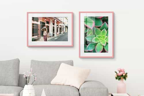 Picture frames photo wall